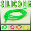 "2.3mm (3/32"") I.D FLUORESCENT Green RC Silicone Nitro Glow Fuel Line Tubing Hose Pipe"